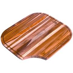 Tábua para Preparo em Madeira Quinline 35,5x41,5cm Natural