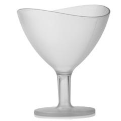 Taça Sobremesa Wave Cristal Natural 300ml - Ou
