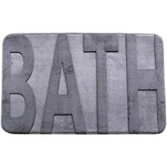 Tapete para Banheiro Bath Cinza