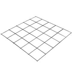 Tela em Aço Malha Pop 20x20cm com 2x3 Metros - Gerdau