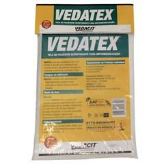 Tela para Impermeabilização Vedatex 73cm com 10 Metros Branca