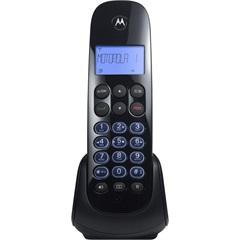Telefone sem Fio com Identificador de Chamadas E Secretária Eletrônica Moto750-Mrd2 Preto - Motorola