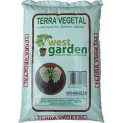 Terra Vegetal Saco com 2kg