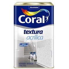 Textura Acrílico Fosco Branco 18 Litros - Coral