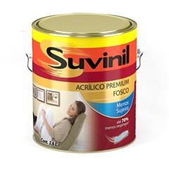 Tinta Acrílica Fosco Suvinil 3,6 Litros
