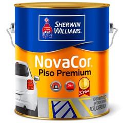 Tinta Acrílica Novacor Piso Mais Resistente Premium Preto 3,6 Litros
