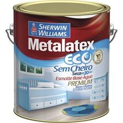 Tinta Eco Esmalte Acetinado Branca 3,6 Litros - Sherwin Williams