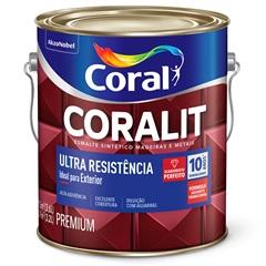 Tinta Esmalte Coralit Fosco Branco 3,6 Litros