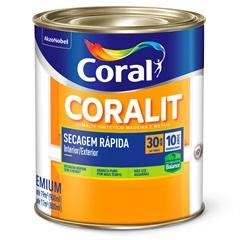 Tinta Esmalte Coralit Zero Acetinado Branco 900ml