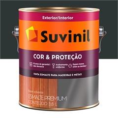 Tinta Esmalte Premium Brilhante Cor & Proteção Preto 3,6 Litros - Suvinil