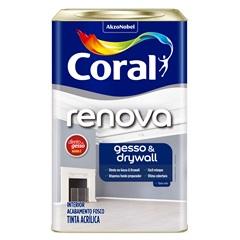 Tinta Látex Direto No Gesso Branco 18 Litros - Coral