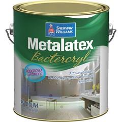 Tinta Metalatex Bactercryl Banheiro E Cozinha Branca 3,6 Litros