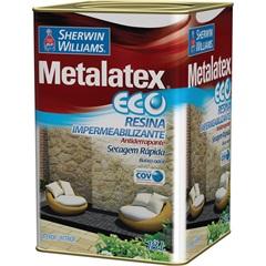 Tinta Metalatex Eco Resina Impermeabilizante 18 Litros - Sherwin Williams