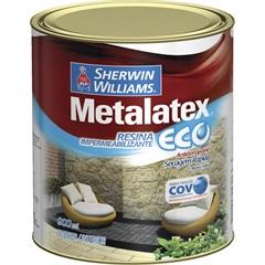 Tinta Metalatex Eco Resina Impermeabilizante 900ml - Sherwin Williams