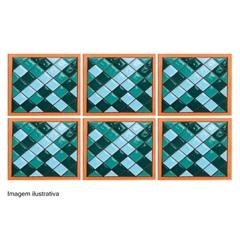 Tozetto Retro Piscina 11,5x11,5cm - Fênix