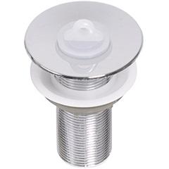Válvula de Escoamento para Lavatório em Abs com Ladrão 2.3/8x1''