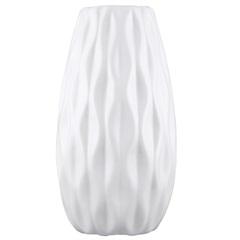 Vaso Cerâmico Largo 11,5x6cm Branco