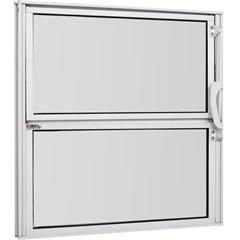Vitrô Basculante de Alumínio Vidro Mini Boreal Branco Pop 40x80cm - Ebel