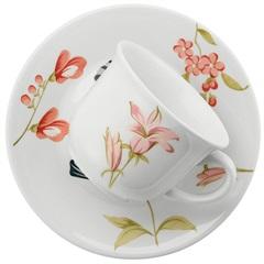 Xícara de Chá de 200 Ml com Pires 16,5cm Biona May - Oxford