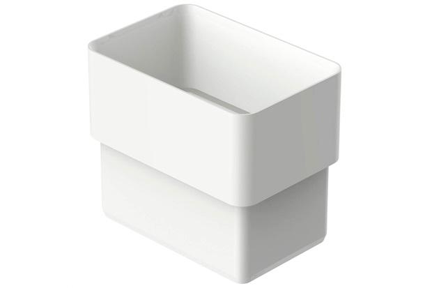 Acoplamento Retangular Aquapluv Style Branco - Tigre