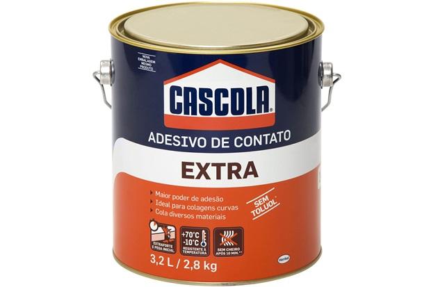 Adesivo de Contato Extra sem Tuluol 2,8 Kg - Cascola