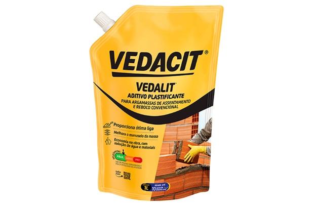 Aditivo Plastificante Vedalit 1 Litro - Vedacit