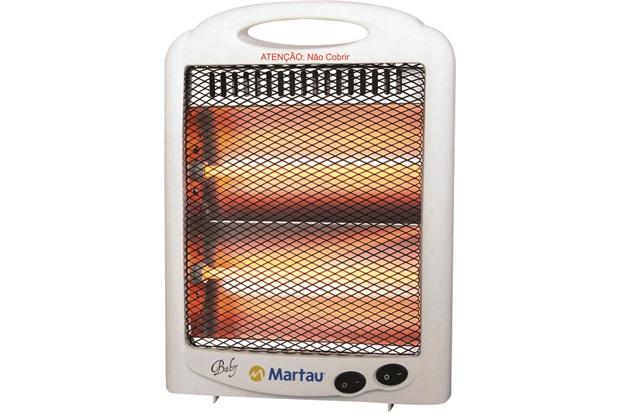 Aquecedor de Ambiente Quartzo 127 V Branco Ref: Aqq-0600 - Martau