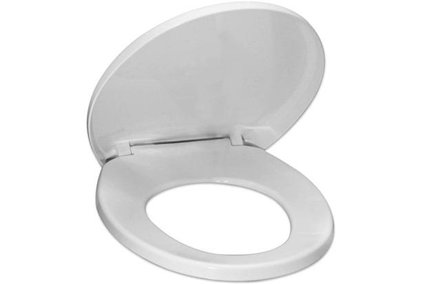 Assento Sanitário Polipropileno Soft Close Branco - Tupan