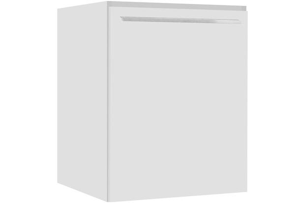 Balcão Fit Lado Direito com Prateleira sem Tampo Branco 60cm - Bumi Móveis