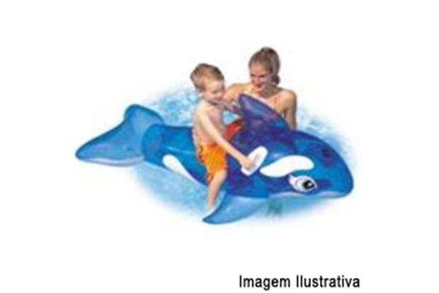 Bóia Baleia Transparente Ref. 58523 - Intex