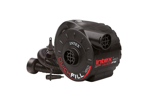 Bomba de Ar Elétrica 110v Preta - Intex