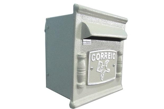 Caixa de Correio Alumínio Repop Ref: 264            - Prates & Barbosa