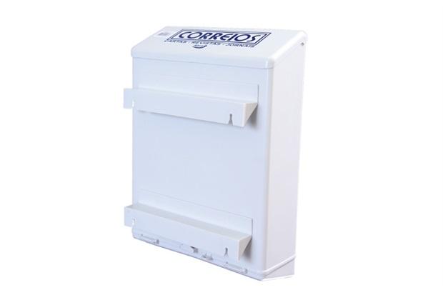 Caixa de Correio para Grade Branca             - Goma Plásticos
