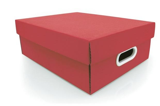 Caixa Organizadora Stok Paper 35x28x12cm   - Boxgraphia