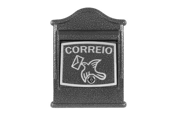 Caixa para Cartas em Alumínio Frontal Tayane Ref. 022 - Prates & Barbosa