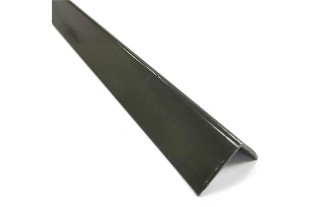 """Cantoneira em """"L"""" de Alumínio 3/4"""" Bronze com 3 Metros - Metropac"""