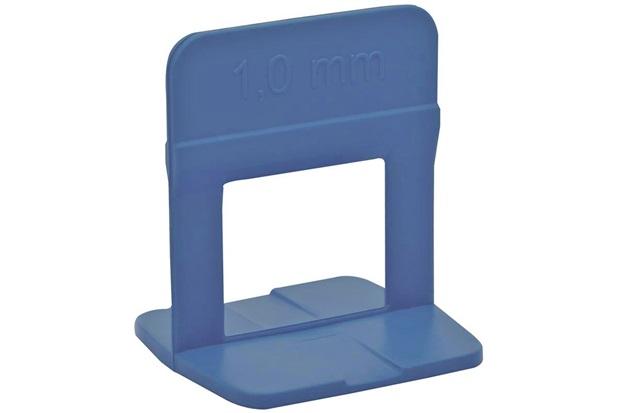 Clip Nivelador para Piso 1mm 50 Peças Azul - Metropac