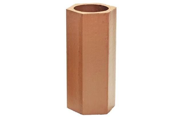 Elemento Vazado em Cerâmica 30x13cm Avermelhado - Cerâmica Martins