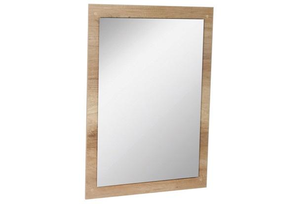 Espelho de Parede em Mdf Munique 83x60cm Carvalho - Irmãos Corso