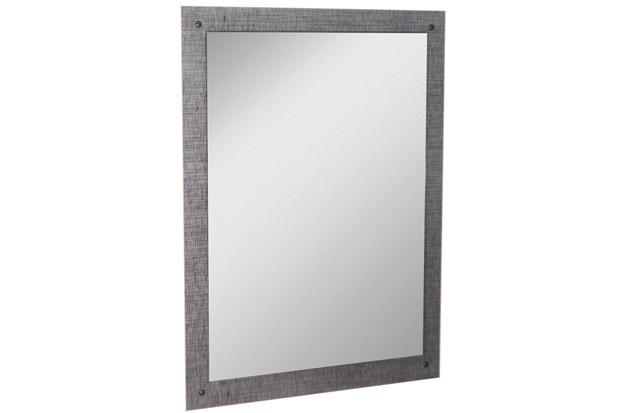Espelho de Parede em Mdf Munique 83x60cm Cromo - Irmãos Corso