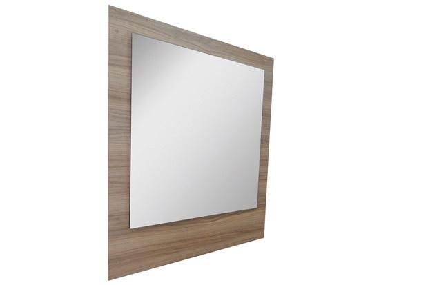 Espelho de Parede em Mdf Vitória 98x82cm Champagne - Irmãos Corso