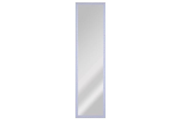 Espelho de Parede Retangular Coral 100 93x25cm Branco - Espelhos Leão