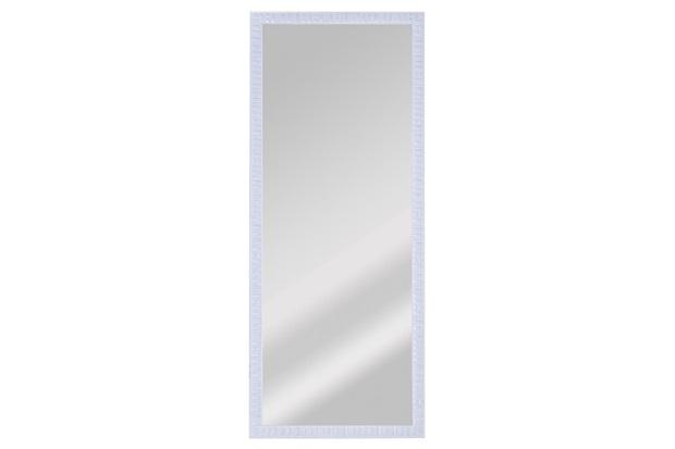 Espelho de Parede Retangular Coral 70 67x25cm Branco - Espelhos Leão