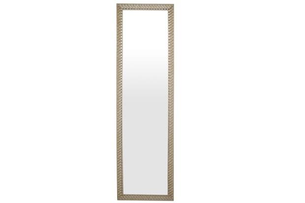 Espelho de Parede Retangular Safira 160 156x46cm Ectx Bege - Espelhos Leão