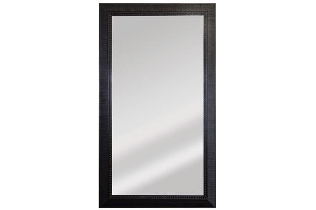 Espelho Retangular Moldura de Madeira Tabaco Esmeralda 110x63cm - Espelhos Leão