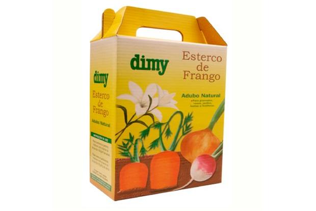 Fertilizante Esterco de Frango 1kilo - Dimy