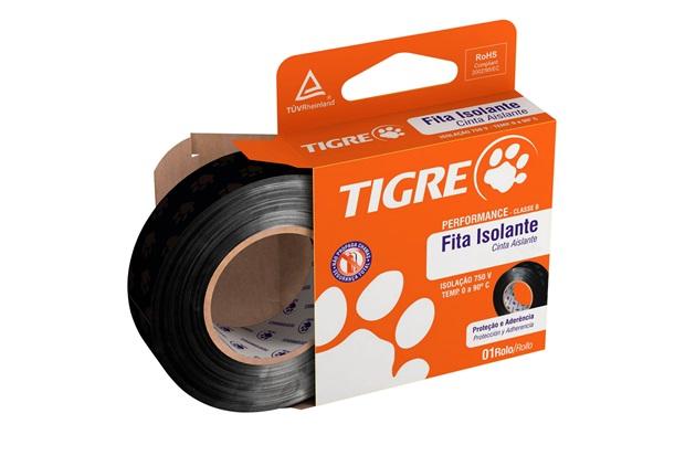 Fita Isolante Antichama 19 Mm X 10 Metros - Tigre