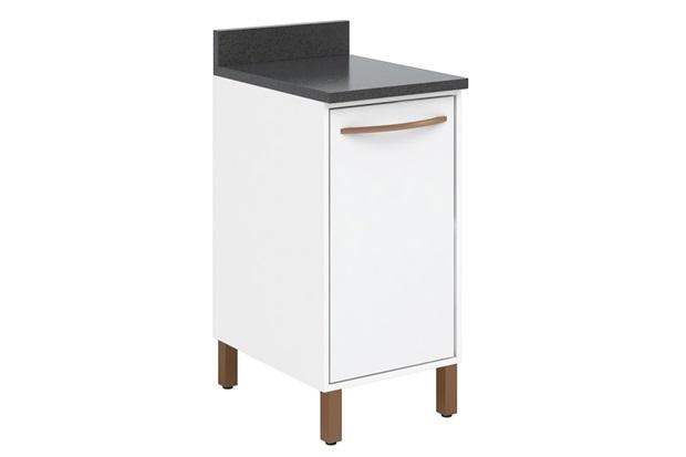 Gabinete em Mdp 90x40cm Branco - Albatroz