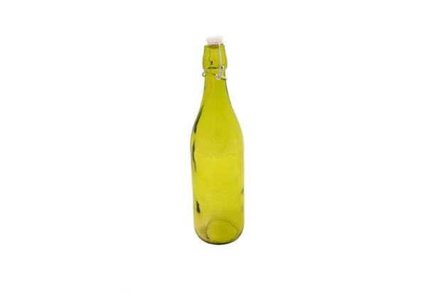 Garrafa de Água Verde 1 Litro 33 X 9 X 9 Cm  - Toyland