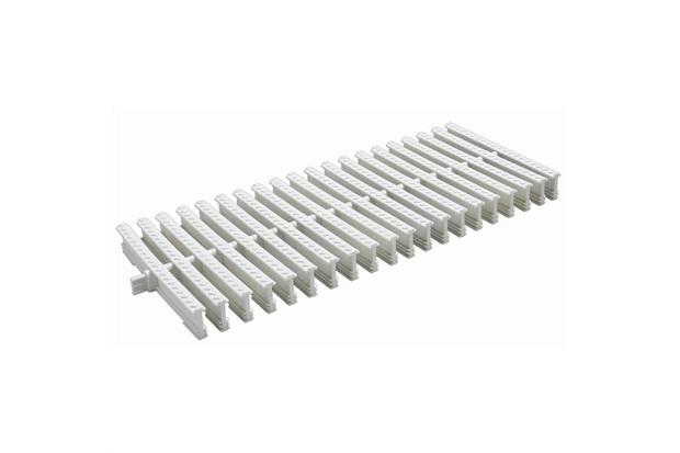 Grelha para Calha de Piso Articulada Branca Dn 200 20x50cm - Tigre